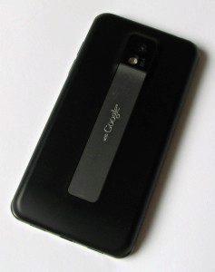 Zadní strana LG Optimus 2X