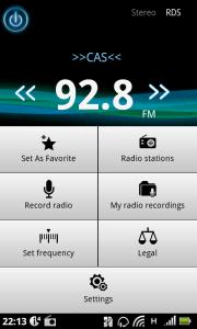 Rádio menu