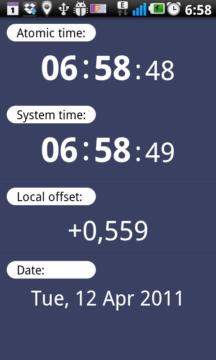 ClockSync nastaví hodiny podle NTP serveru