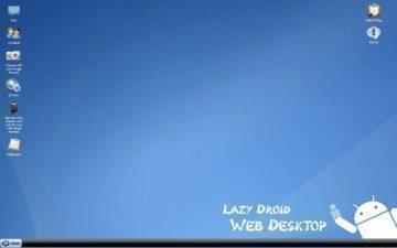 LazyDroid Web Desktop_2
