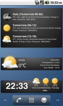 Weather Widgets