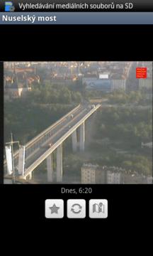 Detailní pohled na Nuselský most