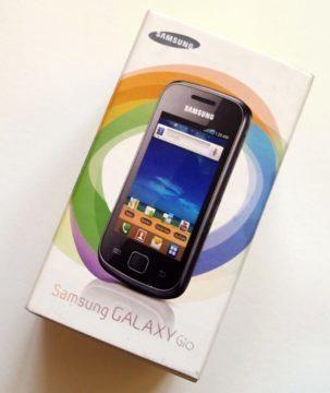 Krabička Samsungu Galaxy Gio