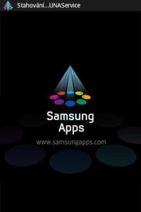 Samsung Apps kromě efektní animace...