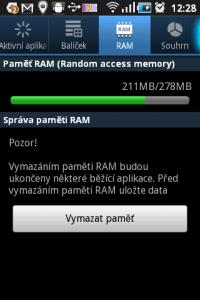 Kolik RAM je volné?