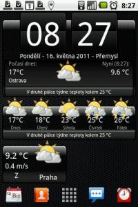 Widget In-počasí