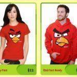 Angry Birds – trička