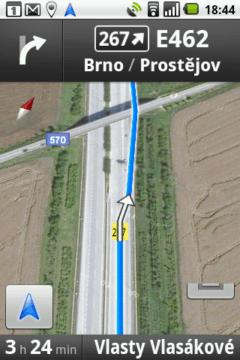 Navigace Google