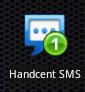 Malý widget-ikonka s počtem nepřečtených zpráv