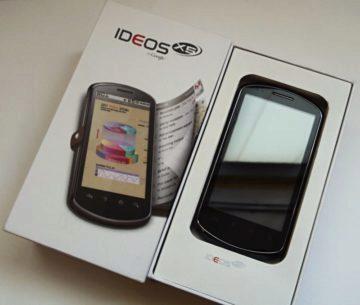 Huawei IDEOS X5 v krabičce