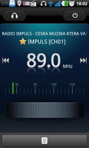 FM rádio s podporou RDS