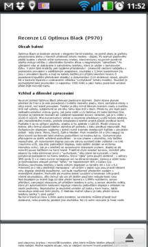 V Polaris Office můžete číst dokumenty DOC, XLS, PPT a PDF.
