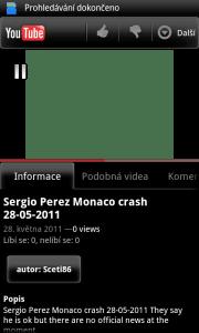 Aplikace pro práci s videy na Youtube