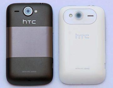HTC Wildfire (2010) a HTC Wildfire S (2011)