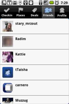 V sekci Friends najdete seznam svých přátel