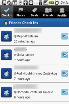 Kde se naposledy přihlásili vaší přátelé?