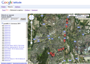 Kde se pohyboval váš mobil prozradí Google Latitude