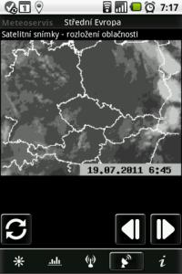 Ze satelitních snímků poznáte, kde je jaká oblačnost
