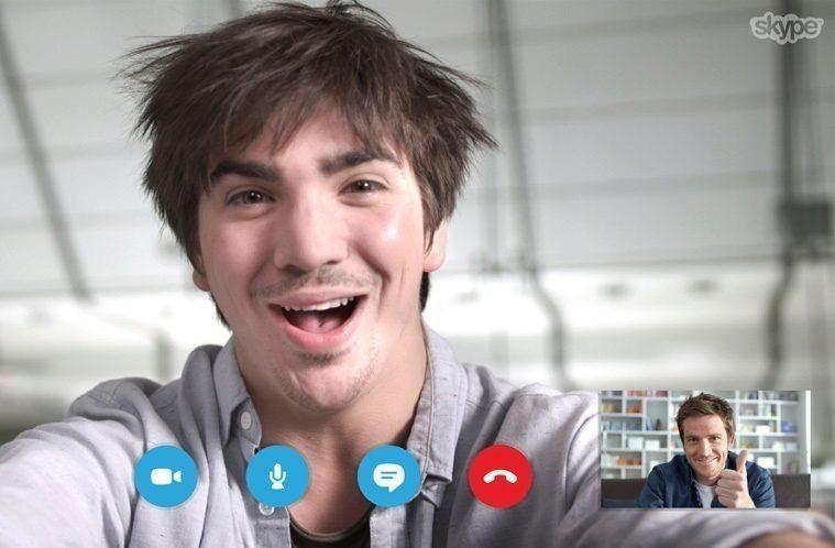 skype nahled