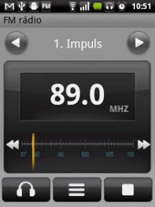 FM rádio k tanci i poslechu