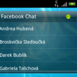 Facebook chat - widget