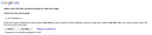 Potvrzení práv pro webovou aplikaci