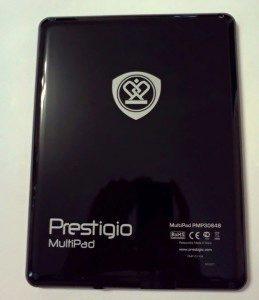 Zadní strana tabletu Prestigio MultiPad 8,4