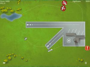 Hra Air Control Lite byla vcelku dobře hratelná