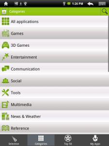 AppLibs nabízí aplikace roztříděné do kategorií