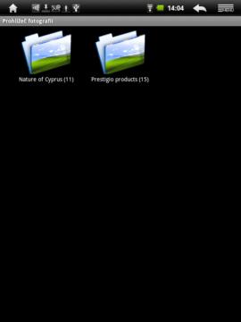 Prohlížeč fotografií pracuje se souborovým systémem