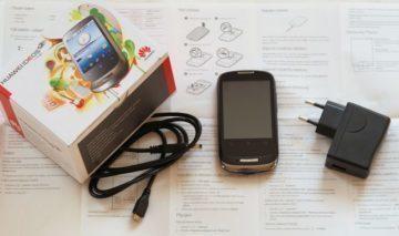 Huawei Ideos X1 – obsah balení