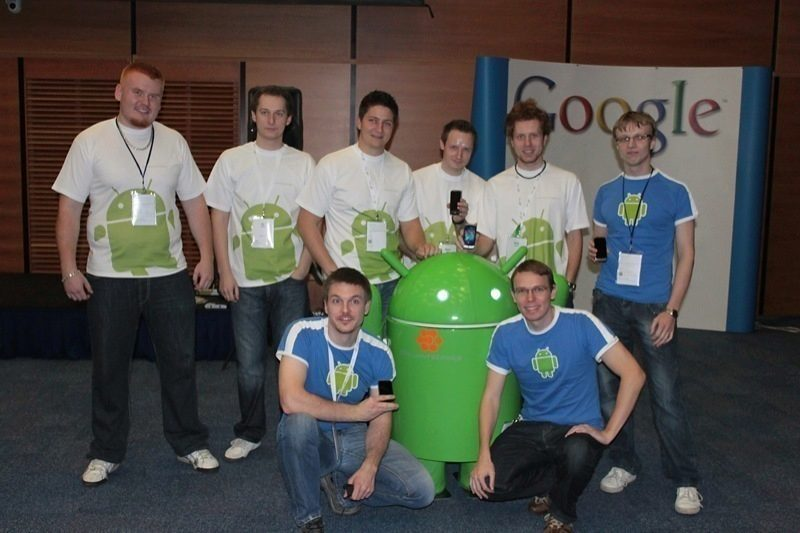 SvětAndroida Team na GDD 2010