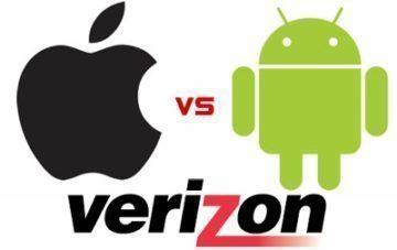 apple vs android verizon iphone
