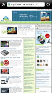 Webový prohlížeč zvládá přehrávání Flashe