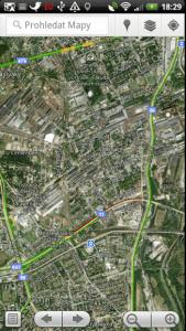 Mapy Google jsou dalším pomocníkem pro orientaci v prostoru