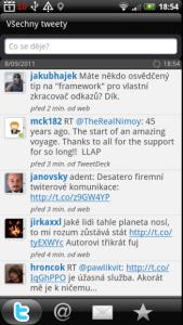 Peep je alternativní klient pro Twitter