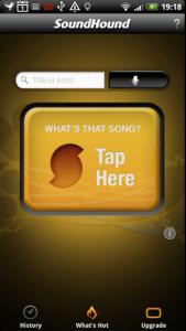 Program SoundHound vám poví, jaká písnička právě hraje v rádiu