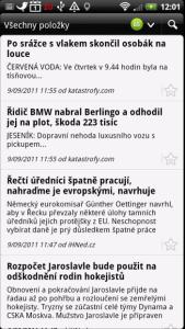 Poprvé jsme viděli aplikaci pro čtení zpráv z Google Readeru