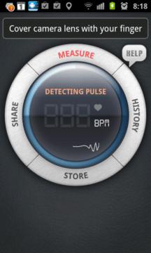 Z uživatelského hlediska je Instant Heart Rate jednou z nejjednodušších aplikací pro Android