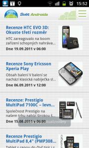 V sekci Recenze naleznete recenze všech zařízení, která redaktoři Světa Androida testovali