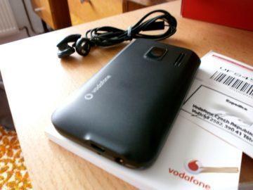 Vodafone 845 - zadní část telefonu