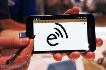 Samsung Galaxy Note se stylusem