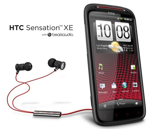 HTC Sensation XE s Beats Audio