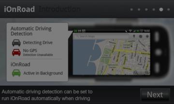 Další funkcí je automatická detekce jízdy