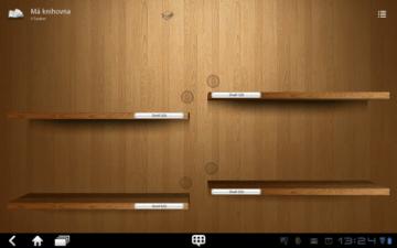 eČtečka je další aplikací pro čtení elektronických knih.