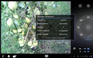 Aplikace Fotoaparát