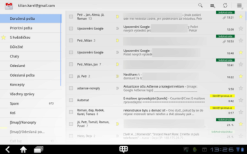 Poštovní klient GMail nabízí kompletní plejádu funkcí, které můžete potřebovat k práci s poštou v e-mailové schránce od Google.