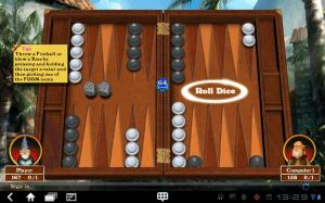 Stolní hra Hardwood Backgammon