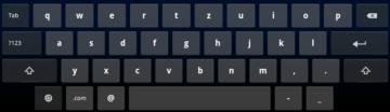 Výchozí klávesnice.