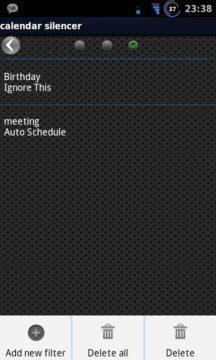 Calendar Silencer